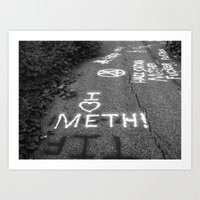 Bad Teeth Art Print