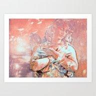 Angel Of Healing Art Print