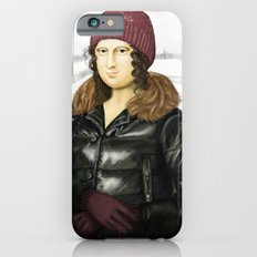 Mona Lisa in winter Slim Case iPhone 6s