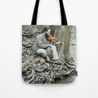 Fiddler On The Creek Tote Bag