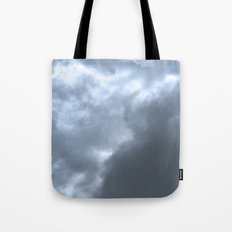 Blue clouds Tote Bag