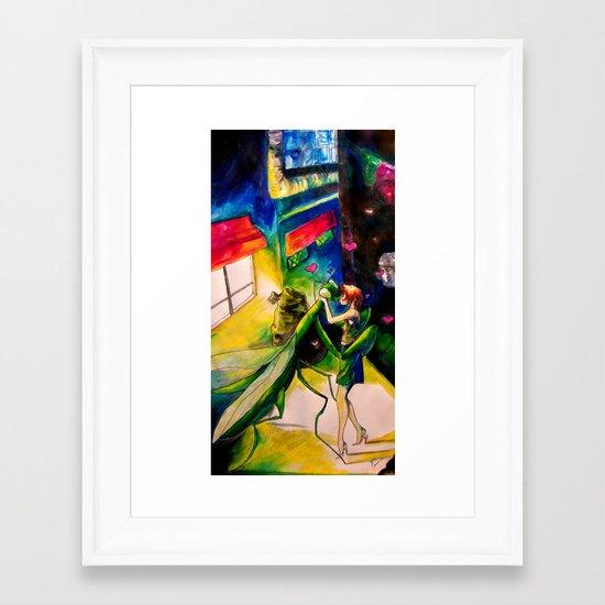 Mantlust Framed Art Print