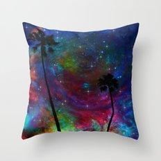 Magical Palms Throw Pillow
