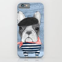 french iPhone & iPod Cases featuring French Bulldog. by Barruf