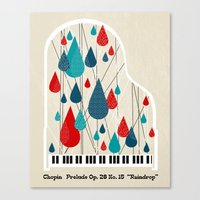 Chopin - Prelude Op. 28 … Canvas Print