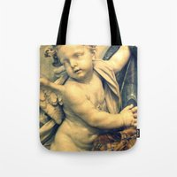 The Hallelujah Cherub. Tote Bag