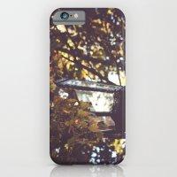Autumn Leaves, Lamp Post iPhone 6 Slim Case
