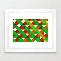 happy our Christmas Framed Art Print