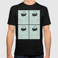HAIR LOSS Mens Fitted Tee Tri-Black SMALL