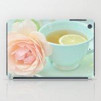Tea Rose iPad Case