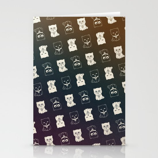 FORTUNE PATTERN Stationery Card