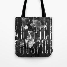 Respice, Adspice, Prospice Tote Bag