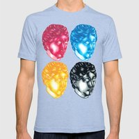 Sic Transit Gloria Mens Fitted Tee Tri-Blue SMALL