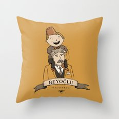 Beyoglu, İstanbul Throw Pillow