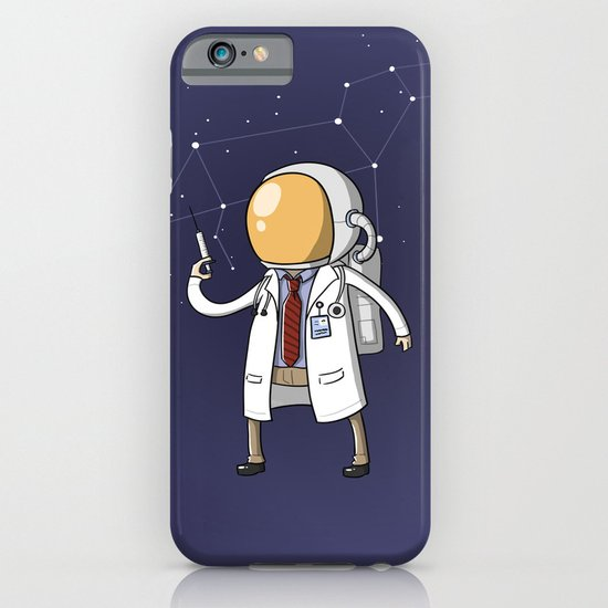 Dr. Spaceman iPhone & iPod Case