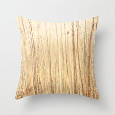 Through the woods and fields Throw Pillow