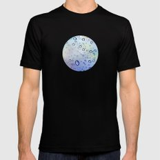 The Raindrops Mens Fitted Tee SMALL Black