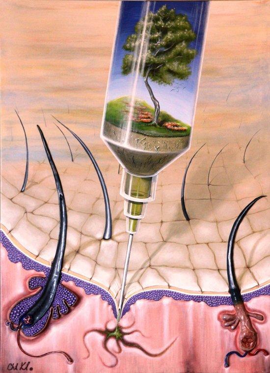 """Syringe"" Canvas Print"