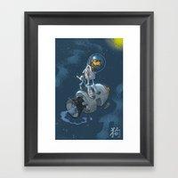 Astro Zodiac Force 11:  Dog Framed Art Print