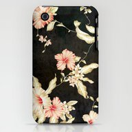 VINTAGE FLOWERS III - Fo… iPhone (3g, 3gs) Slim Case