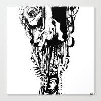 Opressão Canvas Print