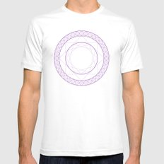 Anime Magic Circle 2 Mens Fitted Tee White SMALL