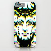 iPhone & iPod Case featuring GOD II Psicho by Mario Sayavedra
