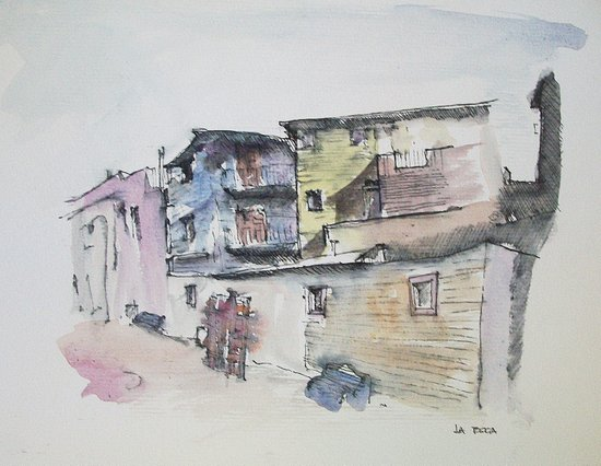 La Boca Canvas Print