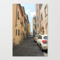 Italian Street 3 Canvas Print