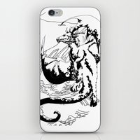 A Dragon from your Subconscious Mind #12 iPhone & iPod Skin