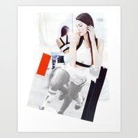 Football Fashion #6 Art Print