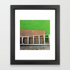 Blackout Framed Art Print
