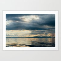 Art Print featuring CLOUD SHADOWS by Catspaws