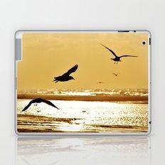 Golden sea Laptop & iPad Skin