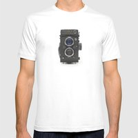 Vintage Camera (Yashica … Mens Fitted Tee White SMALL
