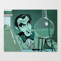 Chemical Cushing Canvas Print