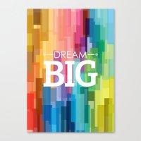 dream_big Canvas Print