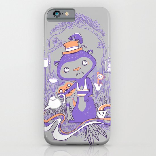 Tea Monkey Tea Party iPhone & iPod Case