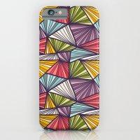 Geometric doodles iPhone 6 Slim Case