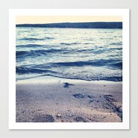 Beach Feeling Canvas Print
