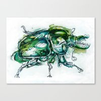 Great Green Goliath Canvas Print