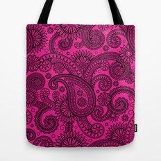 Paisley Pink Tote Bag