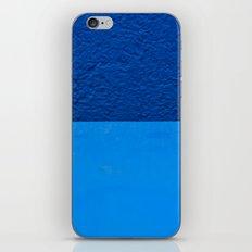 Blue on Blue iPhone & iPod Skin