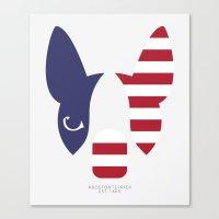 Boston Terrier: American… Canvas Print