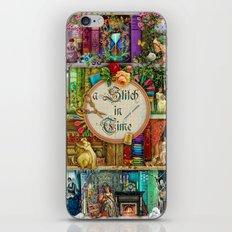 A Stitch In Time iPhone & iPod Skin