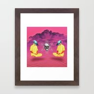 Deep Vision  Framed Art Print