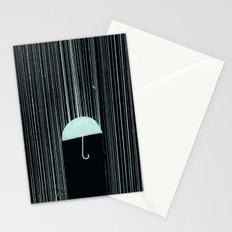 Rain Like Ice Stationery Cards