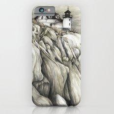 Bass Harbor Head Lighthouse iPhone 6 Slim Case