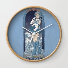 Voice of reason - Sailor Mercury nouveau Wall Clock