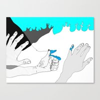 In Case You Were Wonderi… Canvas Print